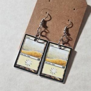 Jewelry - White mana earrings